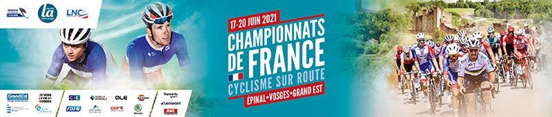 Championnats de France cyclisme 2021