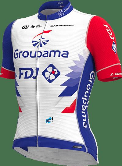 Maillot Groupama-FDJ 2021