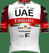 Maillot UAE Team Emirates 2021