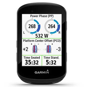 cycling dynamics Garmin Edge 530